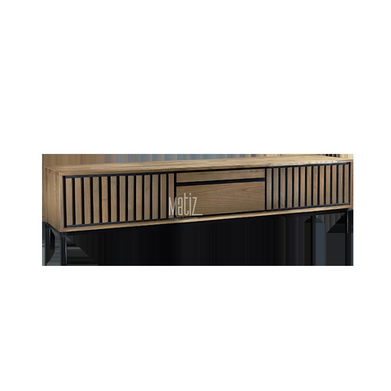 LINES TV Furniture 3 Doors 2