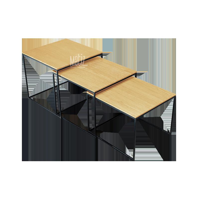 PODIUM Table, Set of 3-3