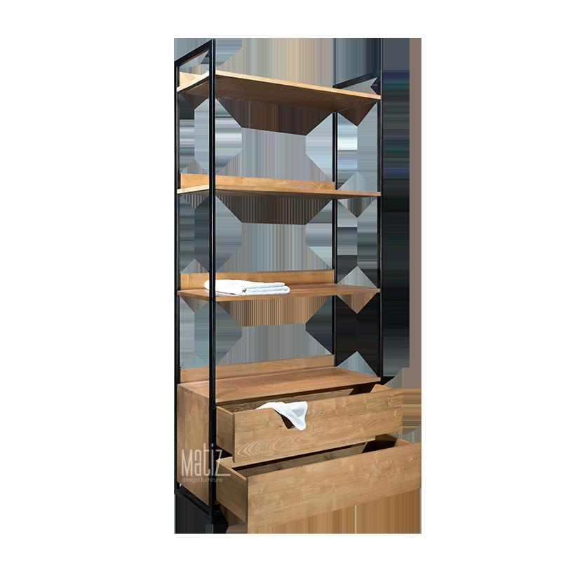 MODULA Rack / Wardrobe 2 Drawers 2