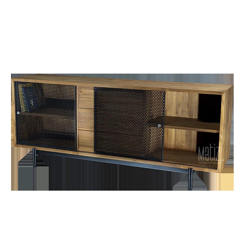 METRO Sideboard 3 Drawers 4