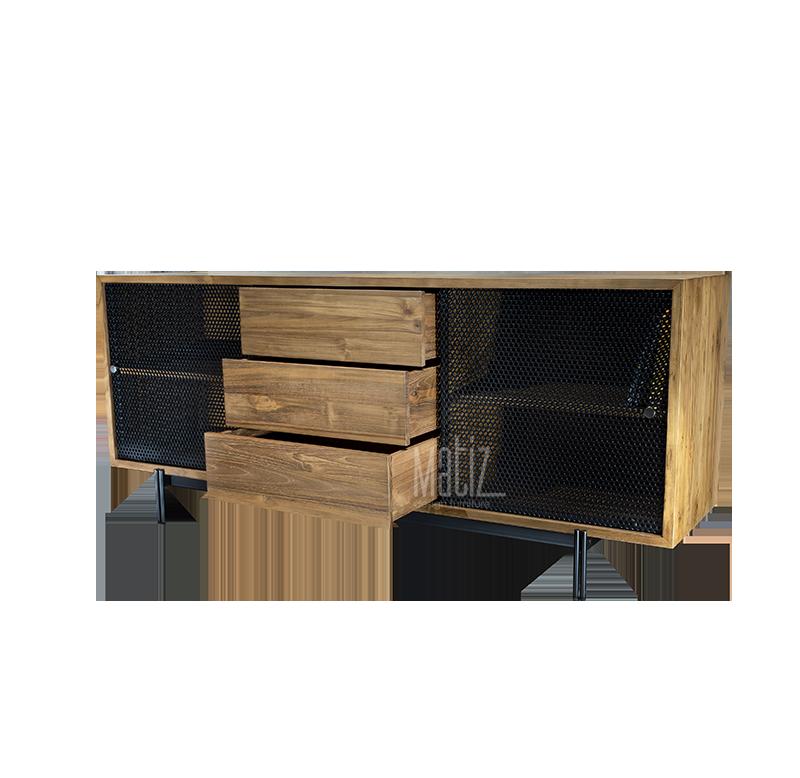 METRO Sideboard 3 Drawers 3