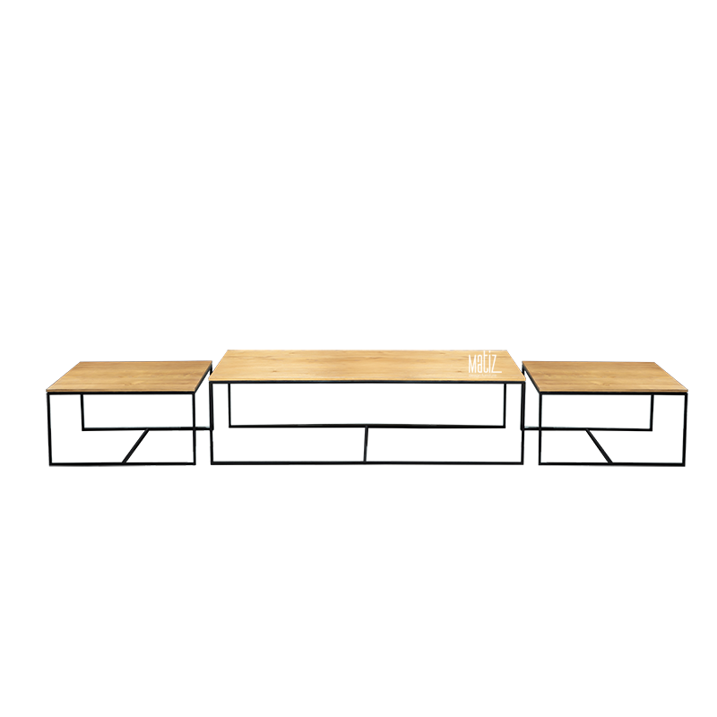 SPLIT Coffee Table, Set of 3-2