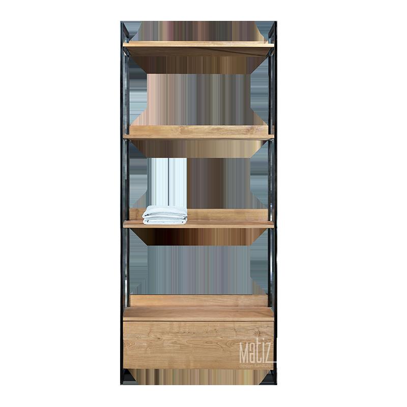 MODULA Rack / Wardrobe 1 Drawer 1