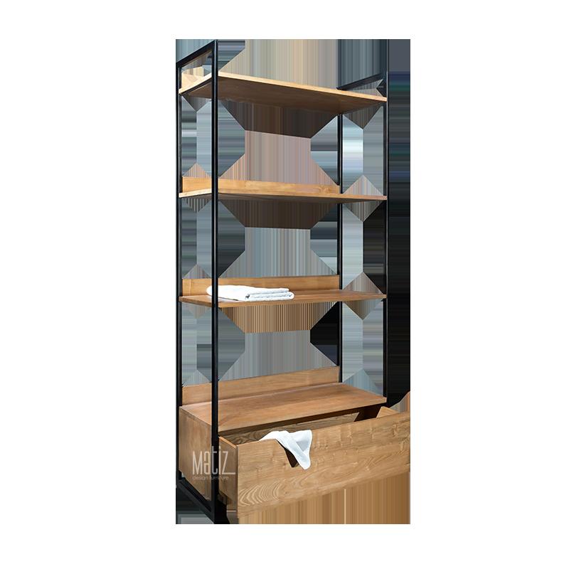 MODULA Rack / Wardrobe 1 Drawer 2